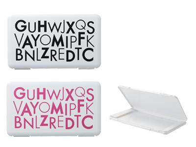 マスクケース with letters