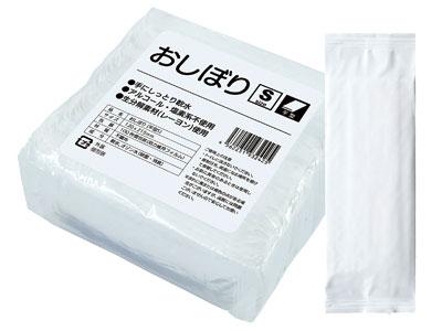 除菌おしぼり テフキーO3 Sサイズ