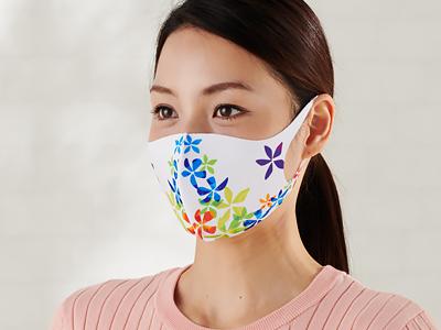 オリジナル印刷可能 全面立体フルカラーマスク